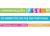 Seminário OS IMPACTOS DO FSE EM PORTUGAL